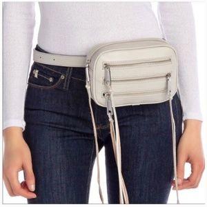 NEW Rebecca Minkoff 3 ZIP Belt Bag